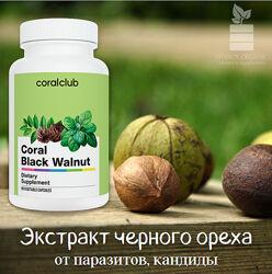 Корал Черный Орех, экстракт черного ореха, АНТИПАРАЗИТАРКА