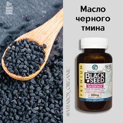 Amazing Herbs, Black Seed, 500 мг, 90 гелевых капсул. Масло черного тмина