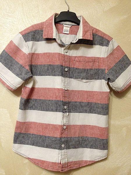 Тениска Gymboree Америка 7 - 8 лет б-у