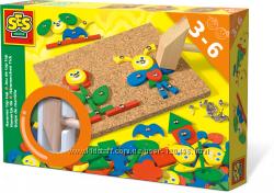 SES Creative набор с доской Маленький плотник