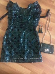 Платье Zara на Новый год, комплект
