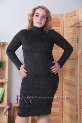 Платье-гольф большого размера Crystall