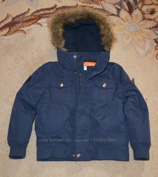 Куртка еврозима F&F р. 5-6 лет 110-116 см