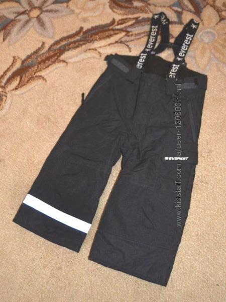 Термо брюки лыжные Everest р. 1. 5-2 года 86 см