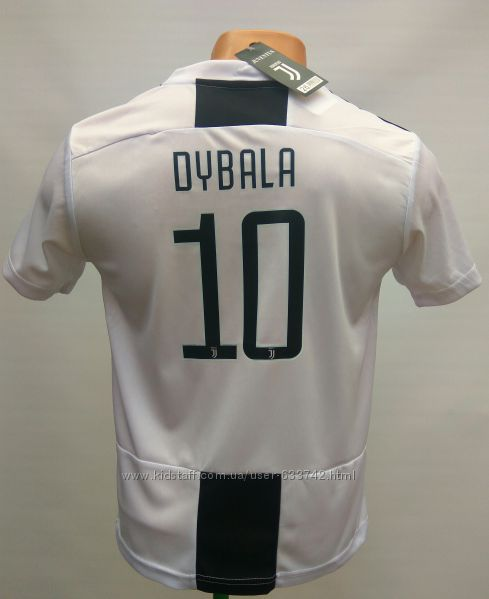 Распродажа футбольная форма детская Dibala Juventus чёрно-белая Dibala