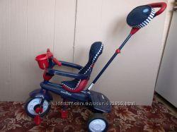 Велосипед Smart Trike красно-синий