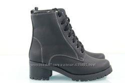Ботинки кожаные зимние