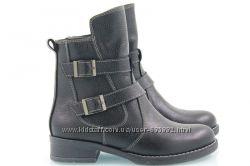 Ботинки кожаные фабричные