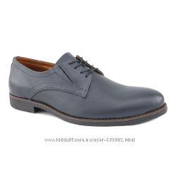 Мужские туфли синие Киев