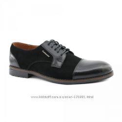 Мужские туфли кожа, замша