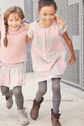 Теплое платье Next uk 7 122рост отлично для школы