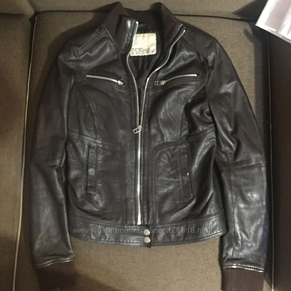 Куртка кожа женская размер М