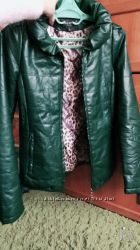Курточка кожзам S
