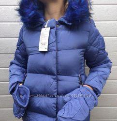 Куртка на меховой подкладке для девочек Grace , 4, 6, 8, 10, 12