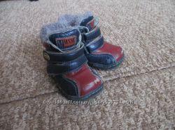 Детские зимние ботиночки 21размер