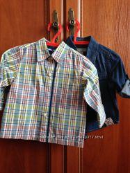 Великолепные рубашки PUMPKIN PATCH  для мальчика 6-12мес