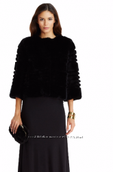 Женский полушубок из кролика DVF Talia Fur Coat, р. S, оригинал,  США