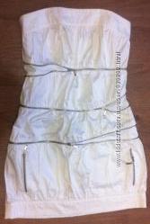 Стильное платье белое TAGO размер 36