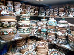 Продается глиняная посуда Васильковская майолика