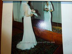 Свадебное белое платье раз. S