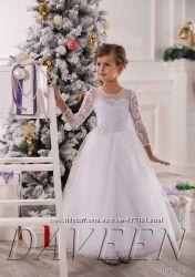 Детские нарядные, праздничные, пышные, бальные платья для маленьких принцес