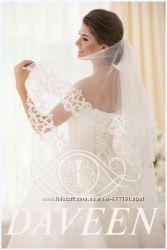 Роскошная свадебная фата-премиум  для милых невест