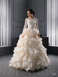 Роскошные свадебные платья  новая кружевная коллекция 2015 года