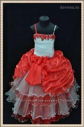Нарядные детские платья оптом и в розницу пошив на заказ
