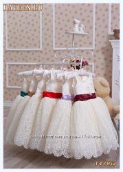 Шикарные праздничные нарядные платья для девочек