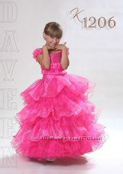 Детские нарядные бальные праздничные платья в наличии и на заказ
