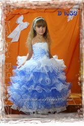 Детские нарядные бальные праздничные платья