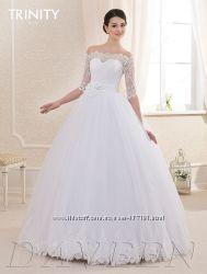 Красивые дизайнерские свадебные платья европейского стиля