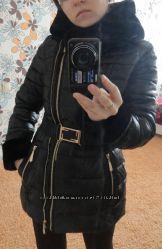 Черная куртка Размер С-ка 42--44 Качество