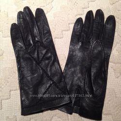 перчатки жен  Италия, кожа, р. 7. 5-8,