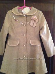 Пальто ENFANT для девочки 4-6лет
