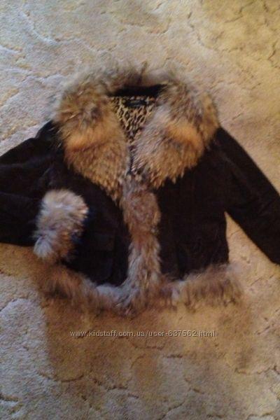 Куртка пальто дубленка женская р. М OakWood Zara