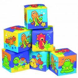 Кубики для ванной от 6 мес