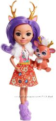 Enchantimals Danessa Deer Doll Кукла Олень Данесса и Спринт