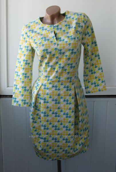 Платье футляр, длинный рукав, юбка бочонок, деми, Польша