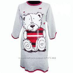 Женская ночная рубашка пижама с начёсом 46 -60