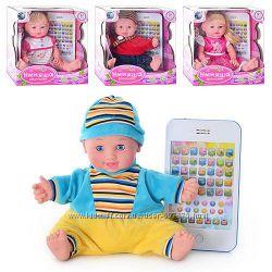 Кукла 1091676-7R60884BL-LS-R Интерактивная