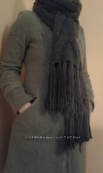 Стильный зимний шарф 2 цвета