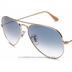 Очки Ray Ban 3025 3026 Aviator Gradient gold комплект, стекло, 599 ... 9a1b034d356