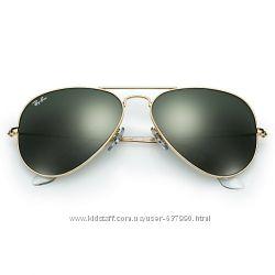 Очки Ray Ban RB 3025 Aviator Large Metal L0205, стекло, 499 грн ... 2ad98b6fa02