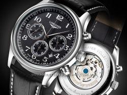 Часы LONGINES MASTER COLLECTION Black, механика