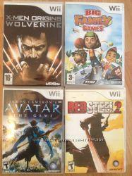 Игровые диски Nintendo для приставки Wii новые