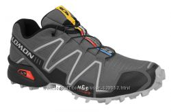 Мужские серые кроссовки SALOMON SPEEDCROSS 3 329785