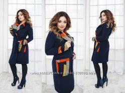пальто осень кашемир размеры 48, 50, 52, 54