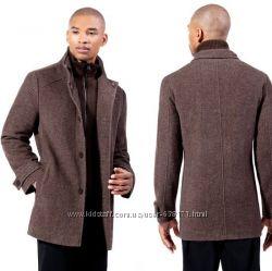 Kenneth Cole Шерстяное пальто для водителей
