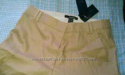 Mango Стильные летние мужские брюки MANGO новые. Ленхлопок.